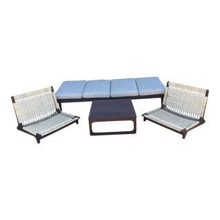 Hans Olsen Modular Sofa Bench & Table - a set