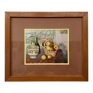 Cezanne Still Life With Soup Tureen Lithograph