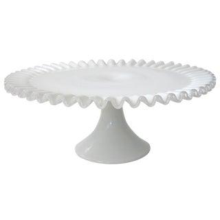 Fenton Silver Crest Cake Stand