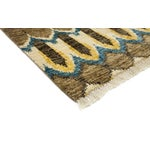 """Image of New Ikat Hand Knotted Area Rug - 3'10"""" x 6'"""