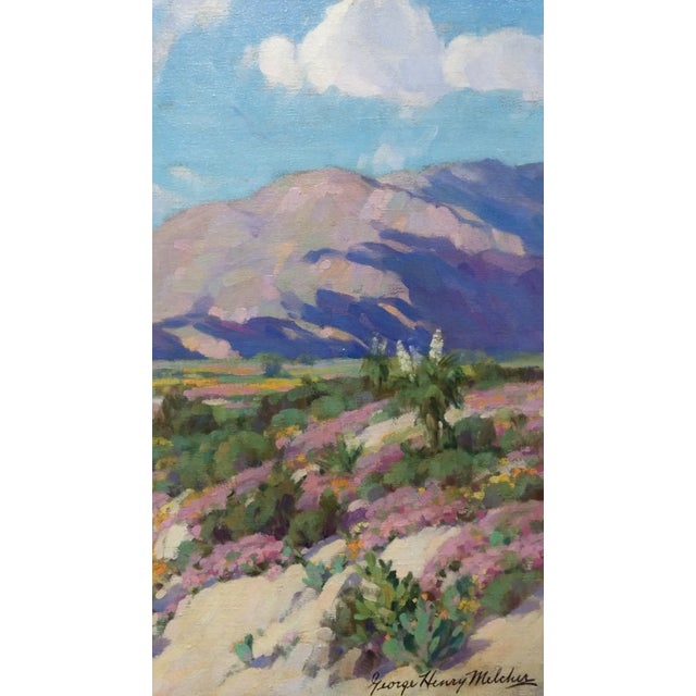 """California Desert"" Oil Painting by George Melcher - Image 7 of 9"