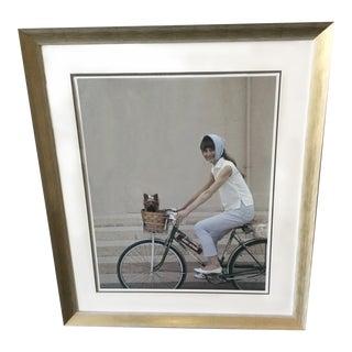 """""""Audrey & Mr. Famous"""" Audrey Hepburn Photograph"""