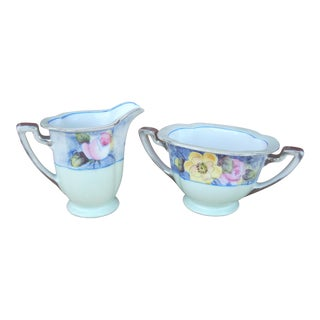 Noritake Cream & Sugar Set - A Pair