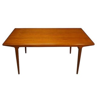 Johannes Andersen Danish Teak Dining Table
