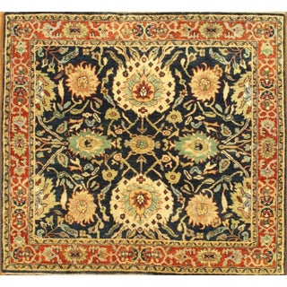 Pasargad Hand-Knotted Serapi Rug - 4' X 4'