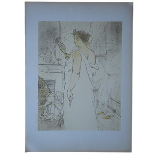 """Lautrec Lithograph """"Elles Women"""" Lithograph"""