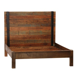 Reclaimed Wood Bed Frame Eastern King