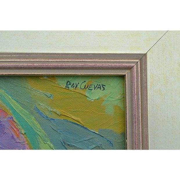 Ray Cuevas On Sespe Creek Painting - Image 2 of 3