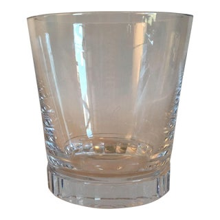 Ralph Lauren Crystal Vase With Faceted Base