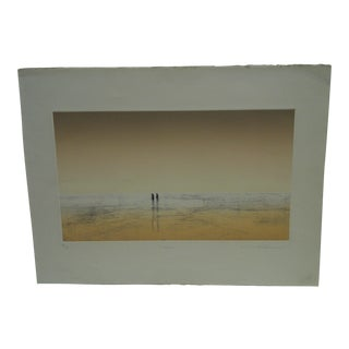 "Michael Rhecoen ""Two Figures"" Print"