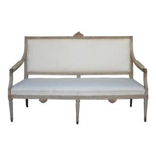 Gustavian Style Settee (#41-32)