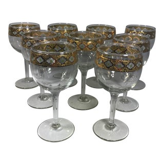 Culver Valencia Stemware - Set of 9