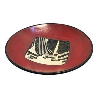 Jaffer Enamel Plate