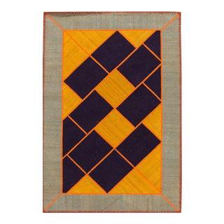 """Apadana - Persian Flat-weave, 4'8"""" x 7'1"""""""