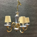 Image of 5-Lights With Shades Chandelier