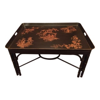 Chinoiserie Black Tray Coffee Table
