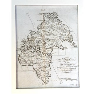 18th C. Andrew Bell Map of the Old World