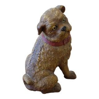 Wood Dog Figurine