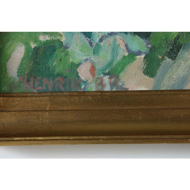 Image of Falsterbo Oil on Canvas Signed Henrik - 1954