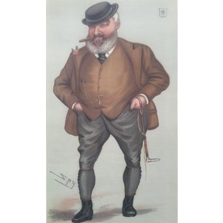 1877 Vanity Fair Print - Turf Devotee - The Mate