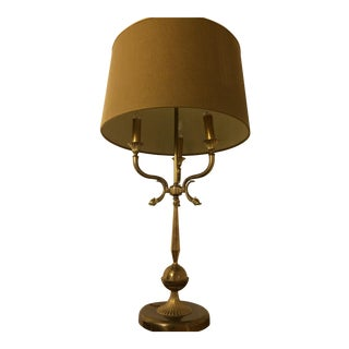 Solid Brass French Table Lamp