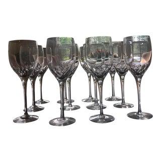 Orrefors Prelude Crystal Wine Glasses - Set of 12