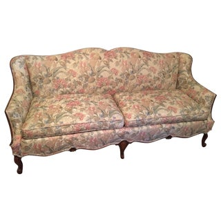 Vintage Camelback Sofa