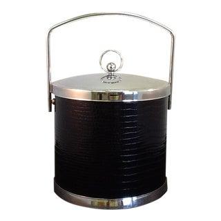 Vintage Ice Bucket. Mid-Century Modern Ice Bucket