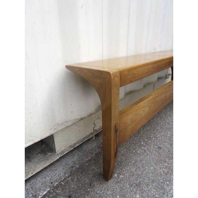 Vintage Wooden Headboard & Footboard, Full Size - Image 7 of 7