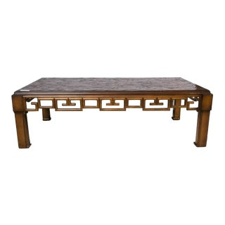 Asian Style and Greek Key Combo Cocktail Table