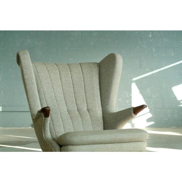 Sven Skipper 1960s Papa Bear Chair Model 91 in the Style of Hans Wegner - Image 5 of 11