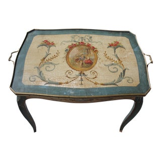 Louis XV Style Painted Cocktail Table