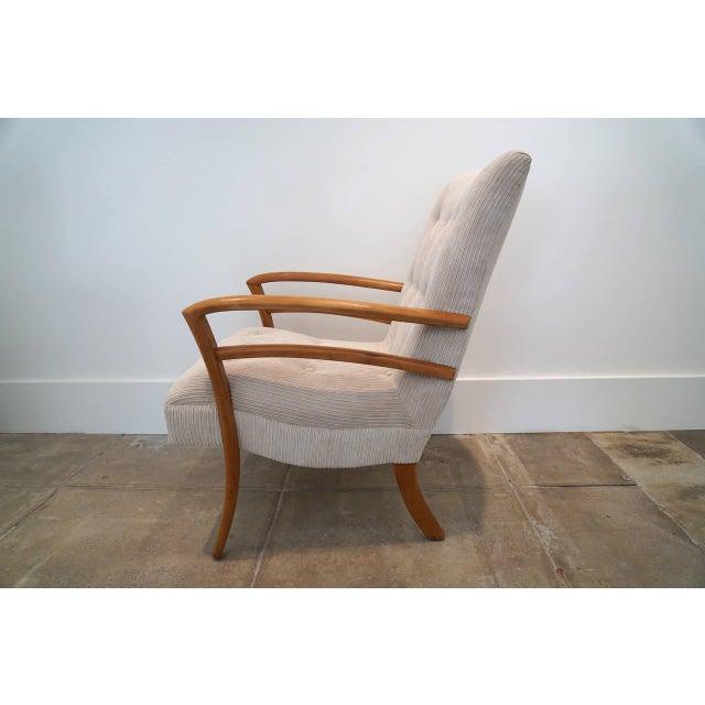 American Sabre Leg Armchair - Image 3 of 5
