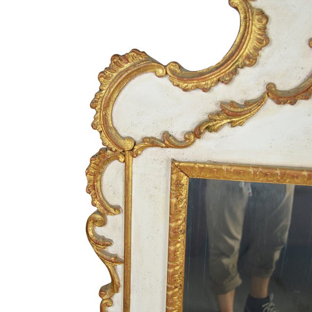 Image of French Rococo Gilt Mirror