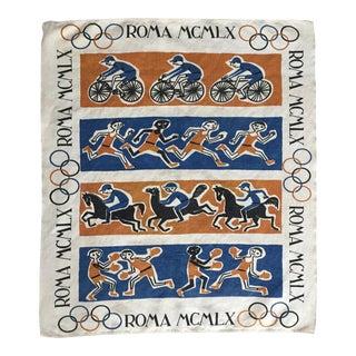 Vintage Rome Olympics Tea Towel