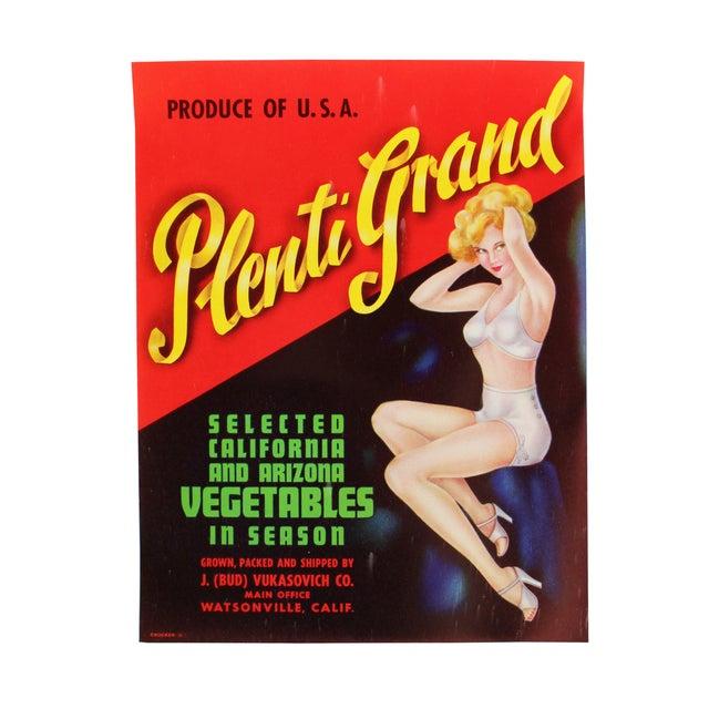 Image of Vintage Original Pin-Up Labels - Set of 3