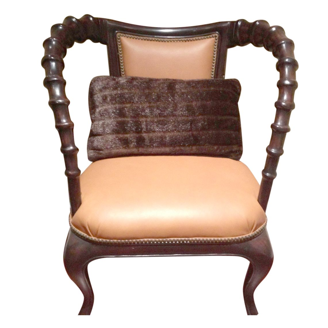East African Chair with Brown Leather Chairish : east african chair with brown leather 9461aspectfitampwidth640ampheight640 from www.chairish.com size 640 x 640 jpeg 40kB