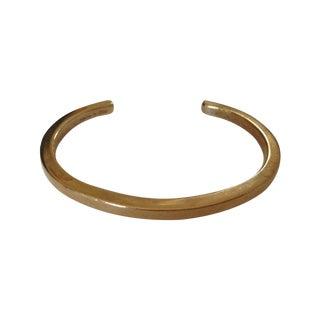 Vintage Modernist Sterling Avedon Cuff Bracelet