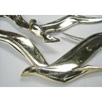 Image of Mid-Century Syroco Gold Flying Birds Wall Hanging