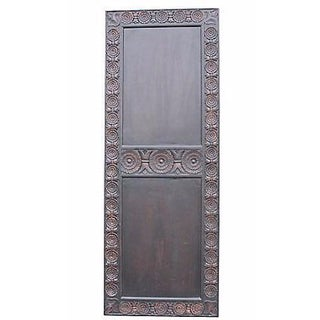 Carved Mahogany Finished Door