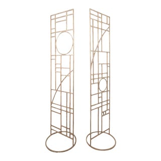 Mid-century Modern Room Dividers - a Pair