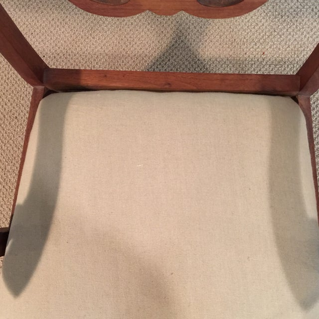 Carved Mahogany Armchair - Image 6 of 11