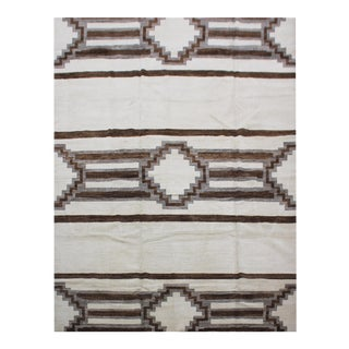 "Hand Knotted Navajo Rug by Aara Rugs In. - 8'2"" X 10'3"""