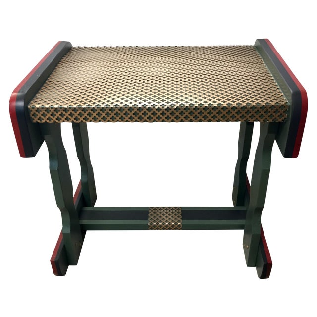 Gucci Inspired Side Tables - A Pair - Image 1 of 11