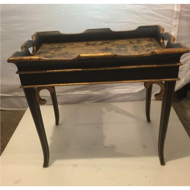 Small Traditional Tray Table - Image 4 of 5