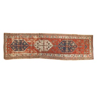 Antique North West Persian Rug Runner - 3' x 10'