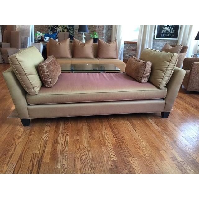 Donghia Backless Sofa Chairish