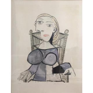 Pablo Picasso Femme Blonde Lithograph