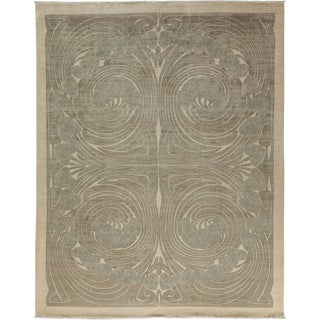 "New Contemporary Hand Knotted Area Rug - 9'2"" x 11'7"""