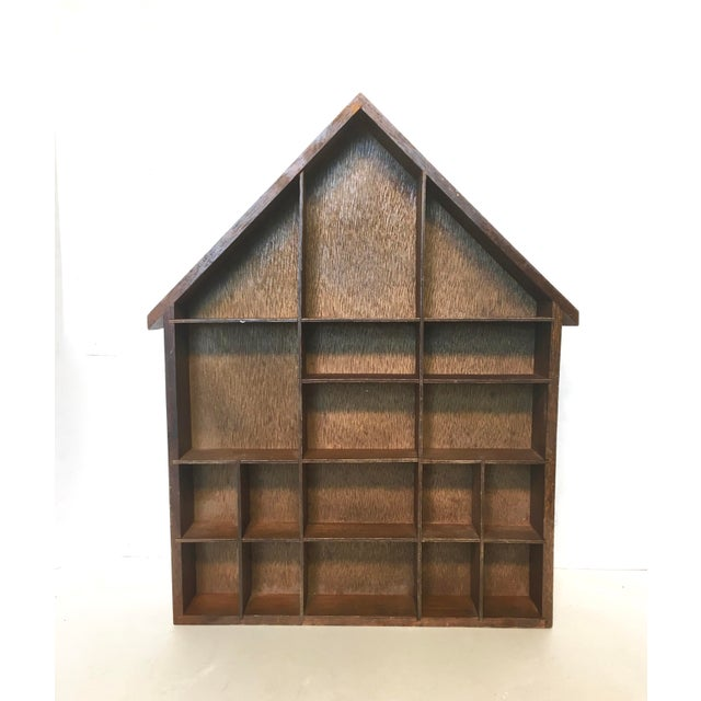 Image of House Shaped Shadow Box